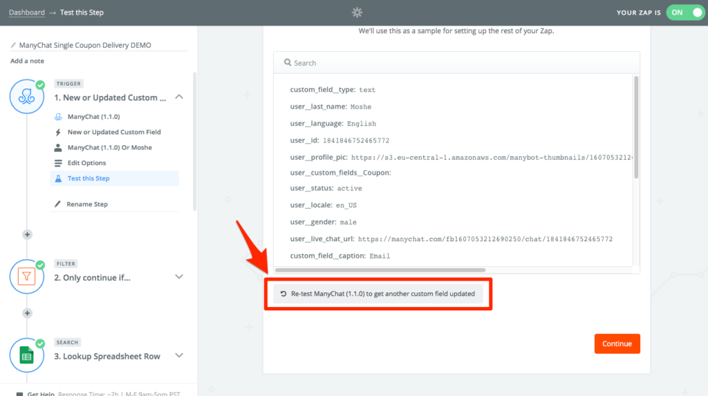 Building a Messenger List + an Email List while Distributing Single